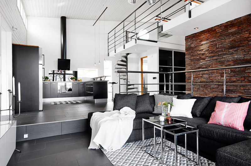 loft-living-room-in-different-level