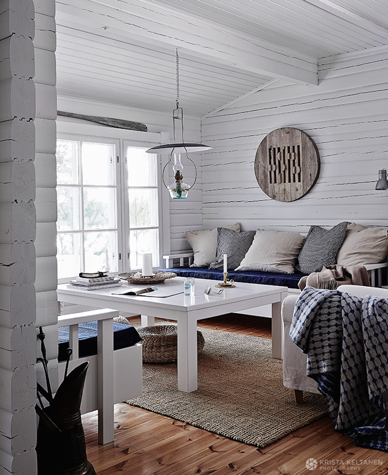 Nordic summer house meets beach house style for Beach house style