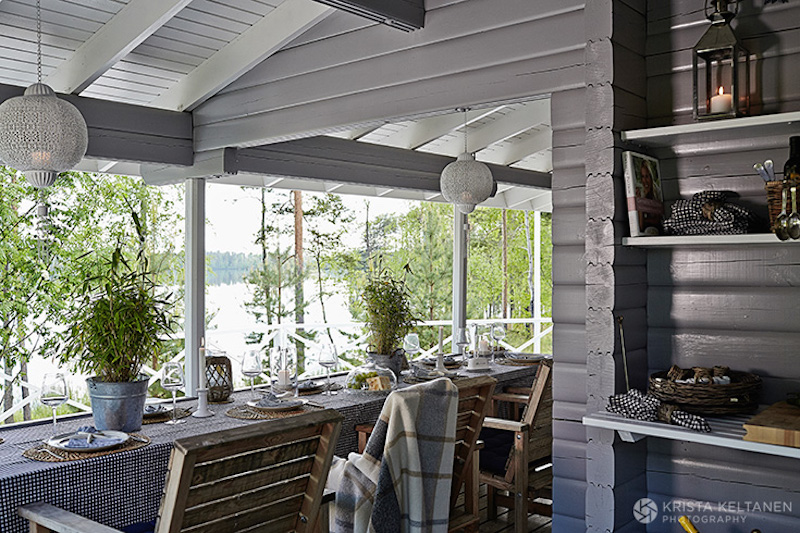 Nordic Summer House Meets Beach House Style