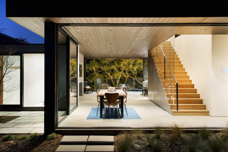 Oak Pass Guest House By Walker Workshop Hall Of Homes