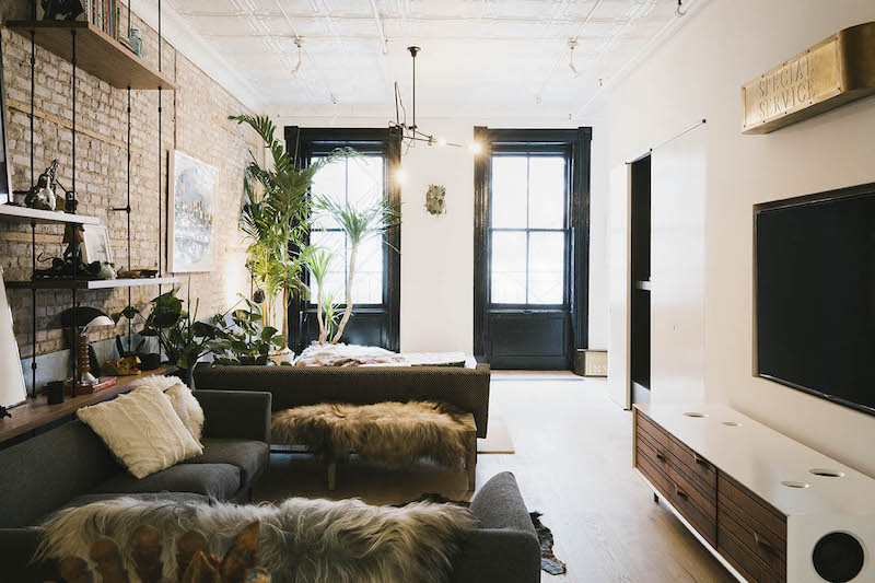 Industrial interior style meets scandinavian simplicity - Decoration loft industriel ...