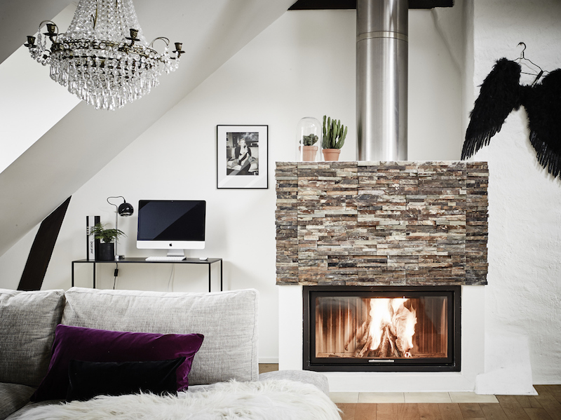 fireplace-in-a-penthouse