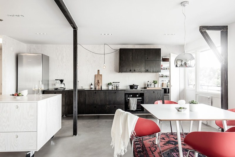 kitchen-design-scandinavian-open