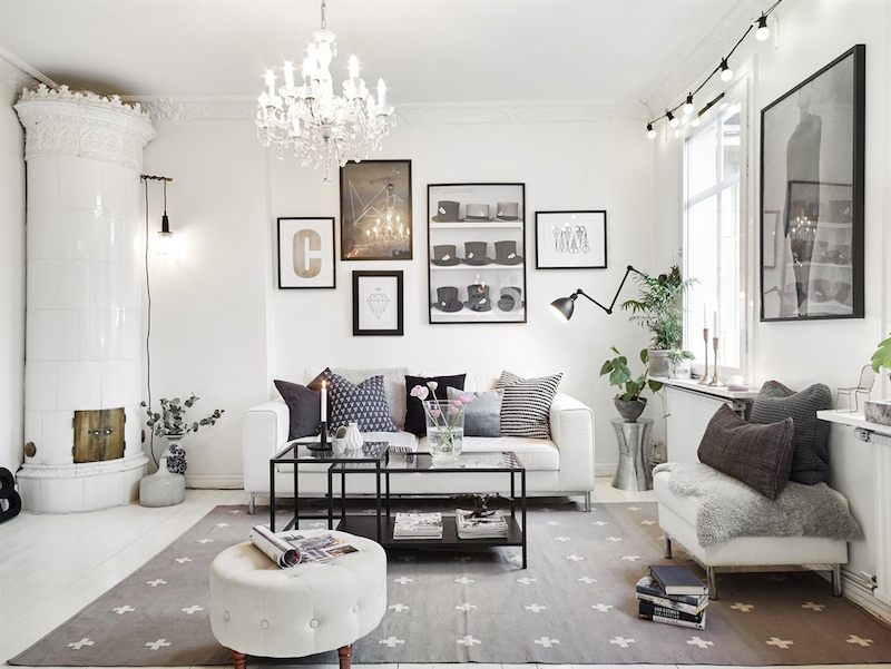 How to design the perfect scandinavian style apartment for 55m2 apartment design
