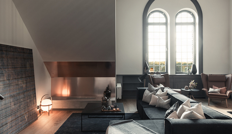 industrial-and-high-ceiling-apartment-livingroom
