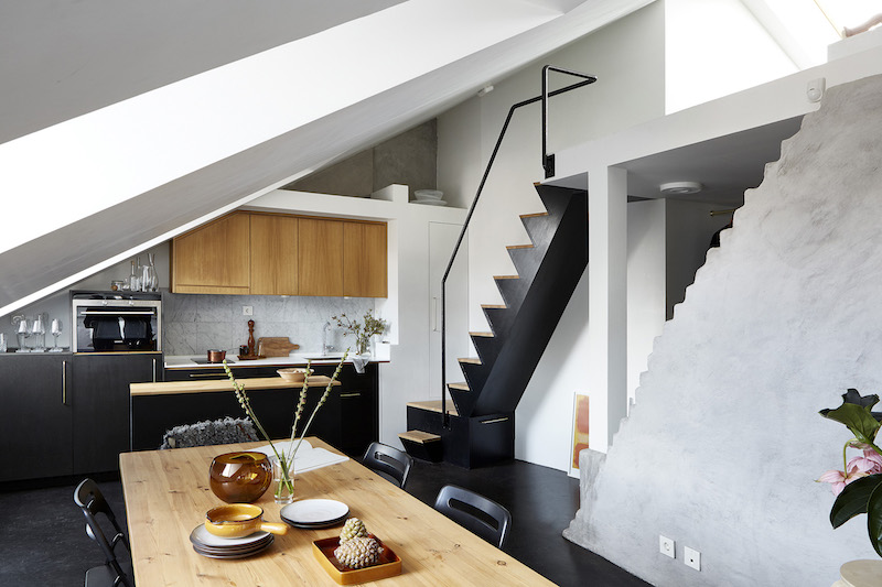 Studio Apartment With Loft