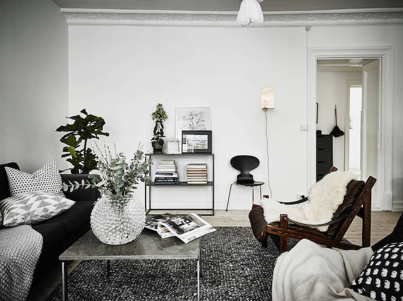 black-and-white-livingroom-decorating