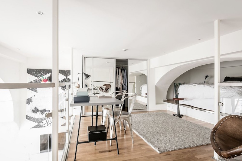 loft-workarea-scandinavian-style-studio-apartment