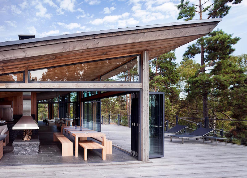 Villa korsholmen by joarc architects for Terraces opening times