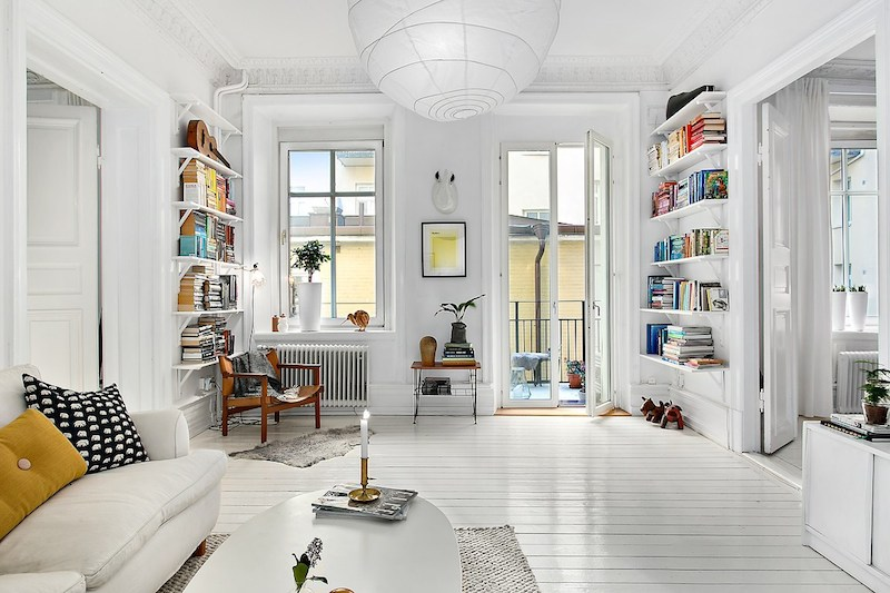 Livingroom Decor Scandinavian Apartment