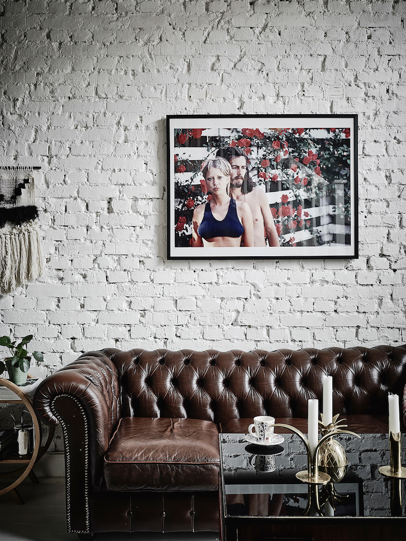 Bold home decor with british and brooklyn vibes