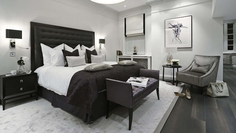 deluxe-bedroom-design-with-black-and-white