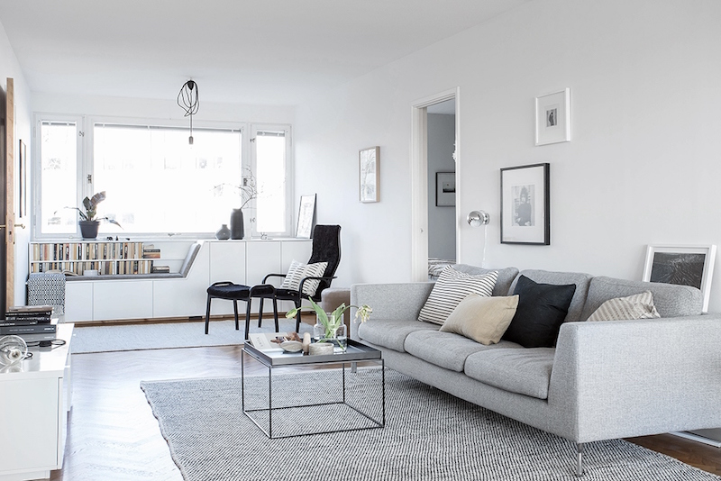 laid-back-scandinavian-style living-room