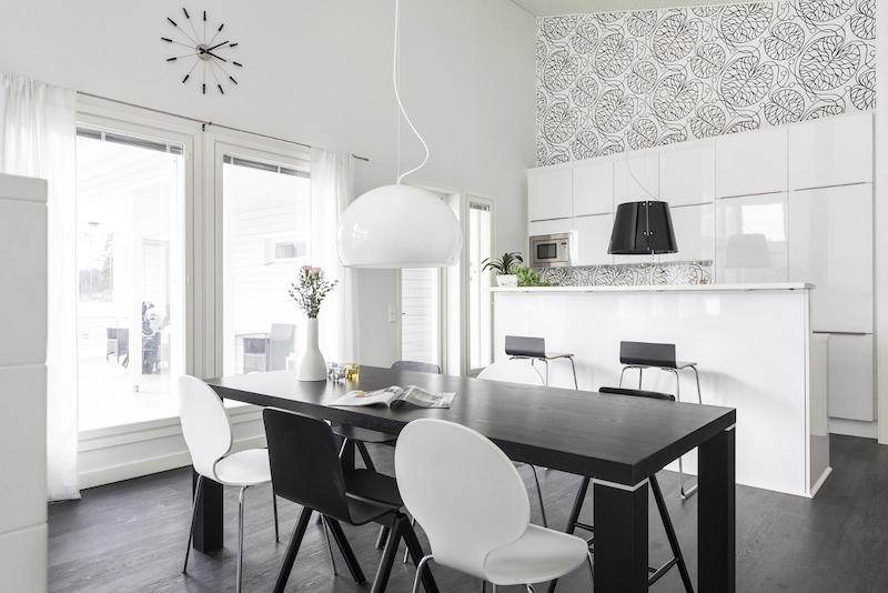 scandinavian-black-and-white-design-decor-kitchen-effect-wall