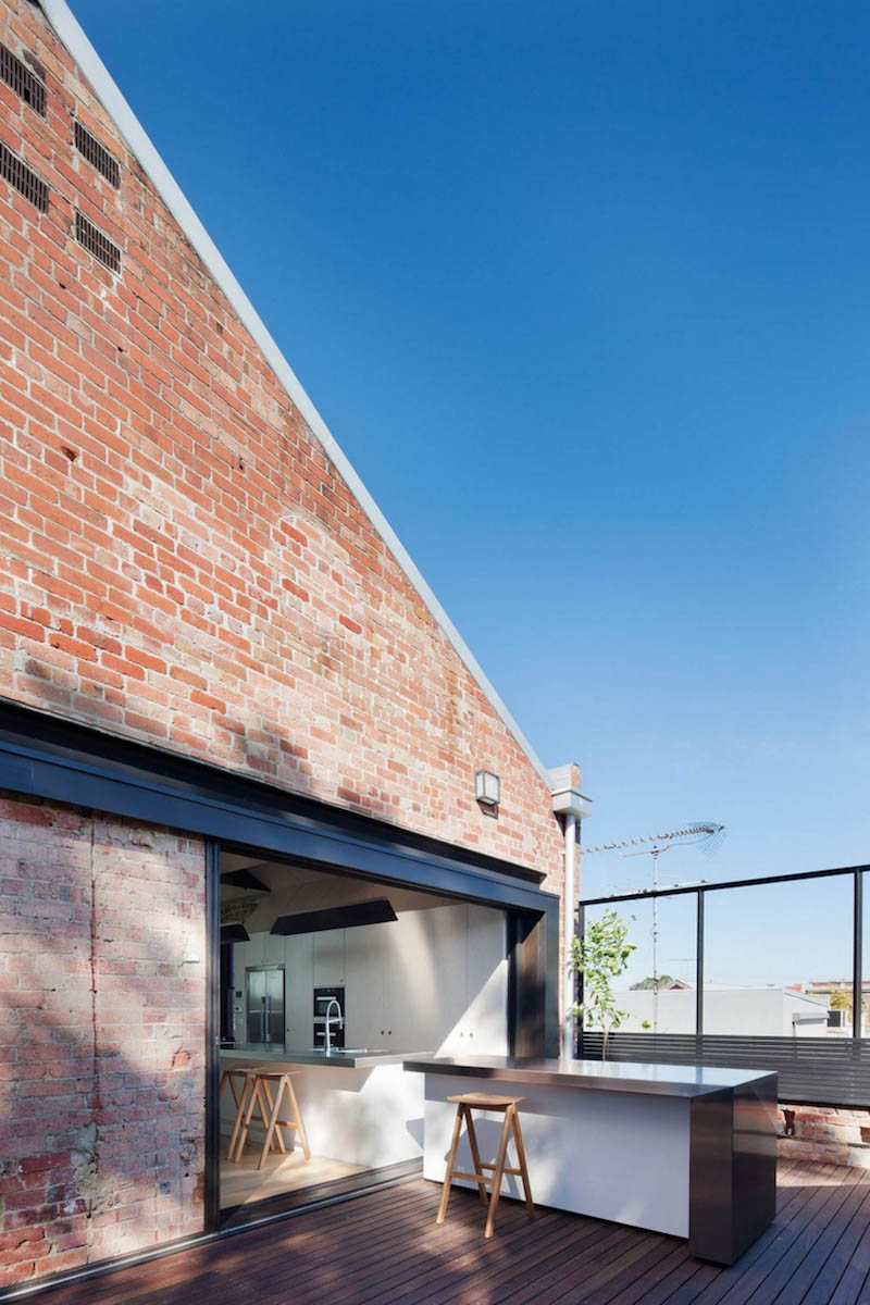 Industrial Warehouse Building Conversion By Andrew Simpson
