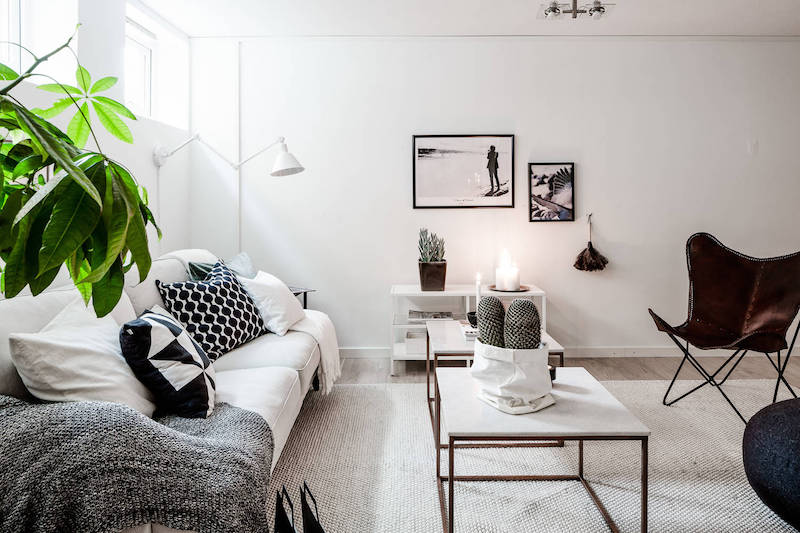 Clean scandinavian interior design style for Clean interior design