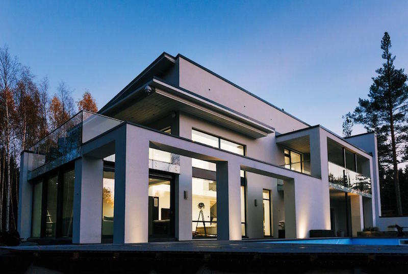 Modern Architecture And Contemporary Interiors Of A