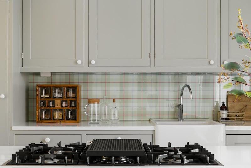 Elegant Nordic Home Decor Kitchen Backsplash