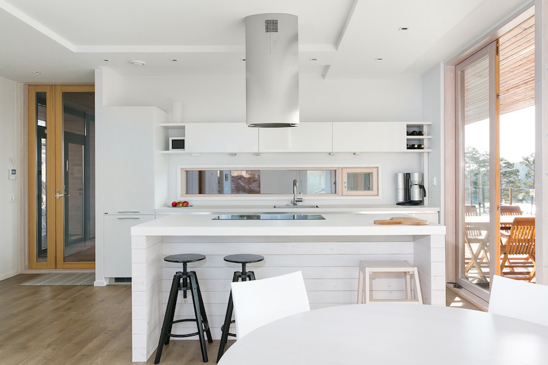 Finnish house and interior design connects with the for Home design kitchen decor