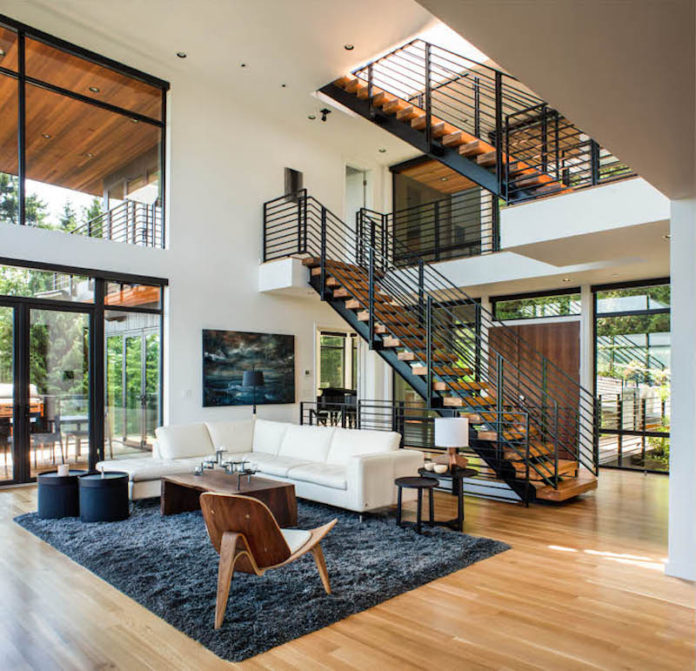 Hall of homes interior design home decor architecture for Contemporary house music