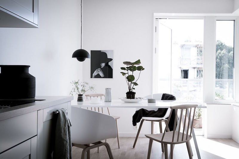 Calm Scandinavian Decor Style Hall Of Homes
