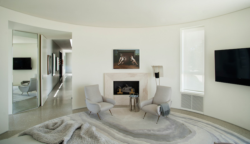 contemporary-home-beverly-hills-bedroom-fireplace