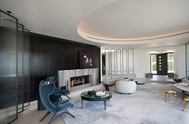 contemporary-home-beverly-hills-hall