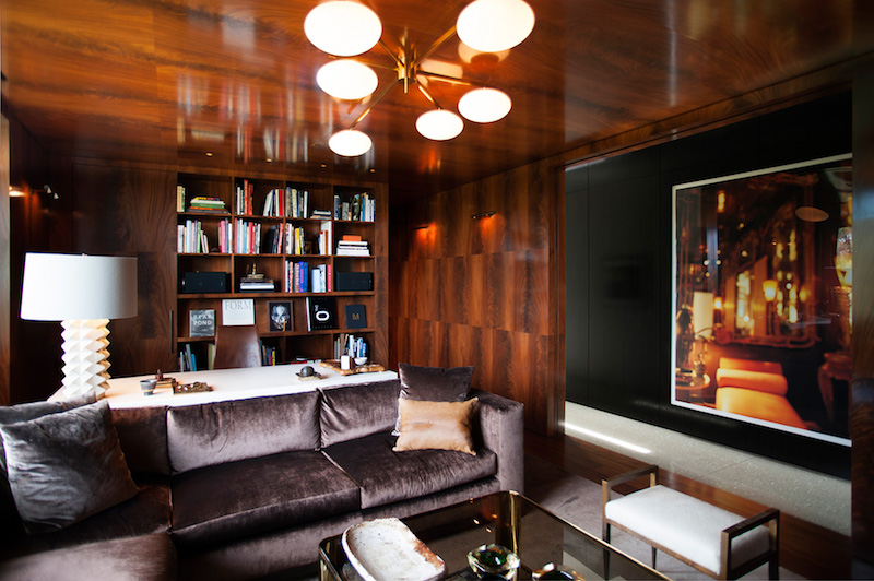 contemporary-home-beverly-hills-library-room