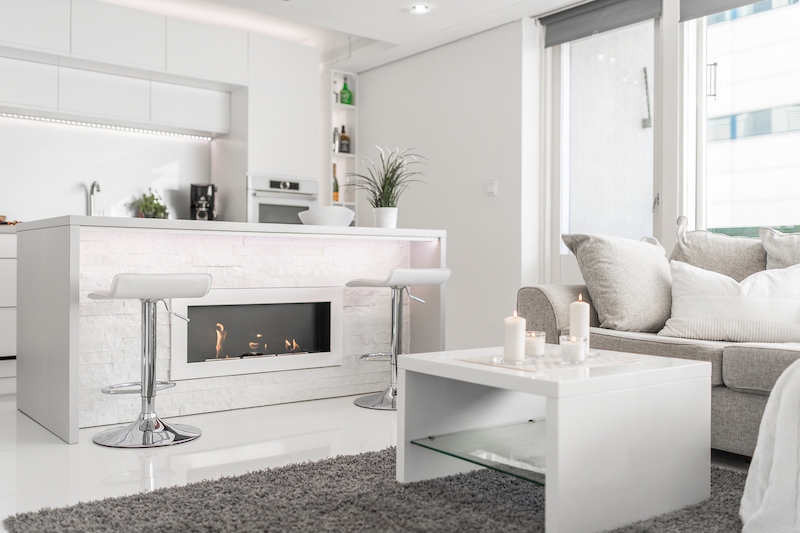 white-interior-small-apartment-kitchen-fireplace