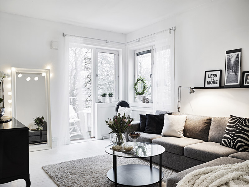 How To Decorate A White Apartment To Make It Cozy And