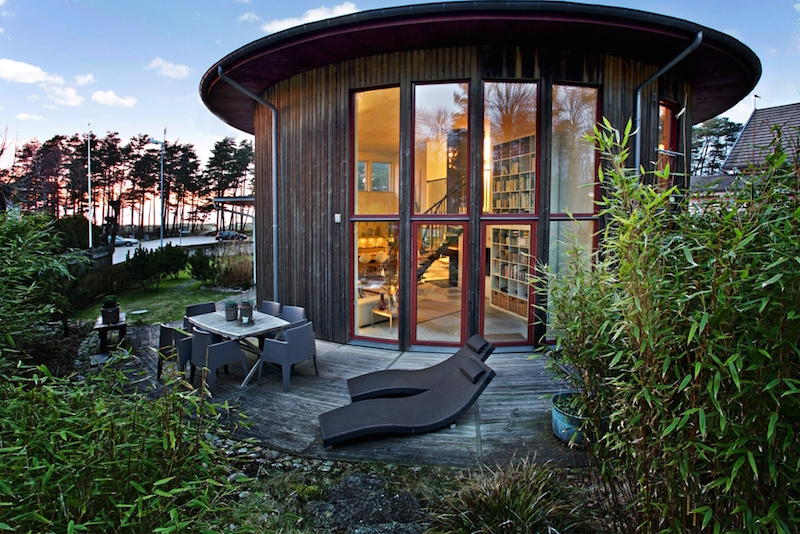 Architect House In Sweden Hall Of Homes
