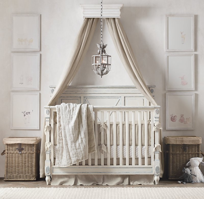 Natural Baby Nursery Design Reveal: Beautiful Baby Room And Nursery Design Styles By RH