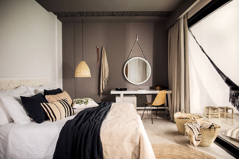 Bohemian style hotel resort casa cook in rhodes for Hotel chic decor
