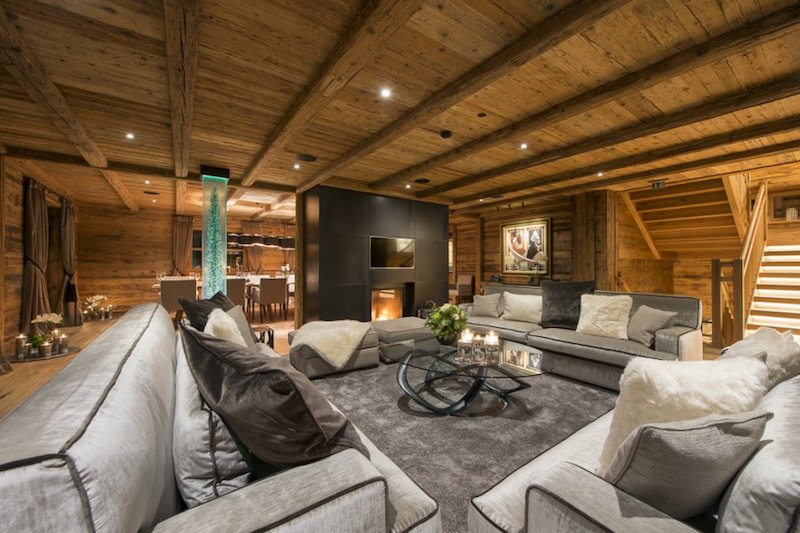 Luxury Chalet Uberhaus In Lech Hall Of Homes