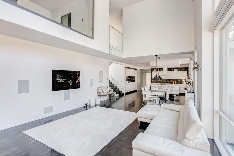 Contemporary Interiors Modern Architecture House Sitting Area