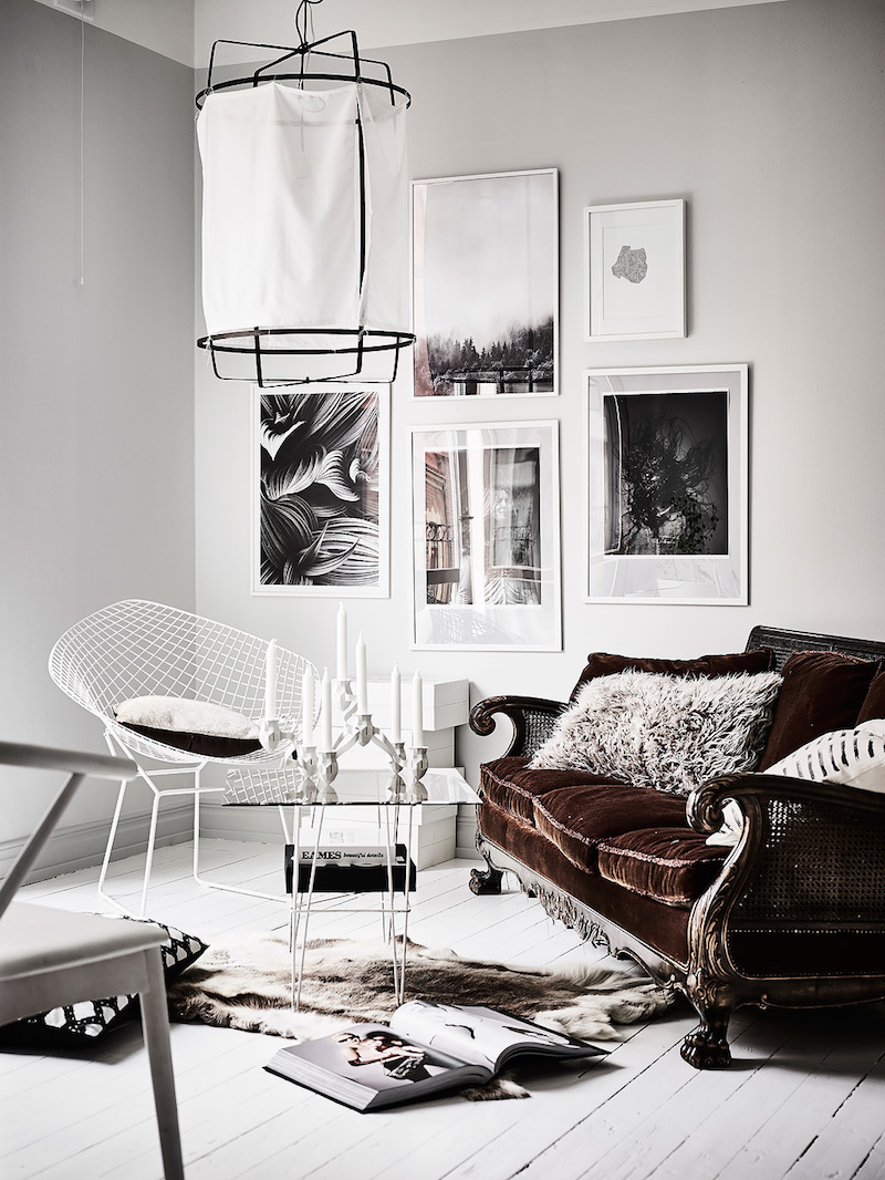 Contrast With White Decor Styling
