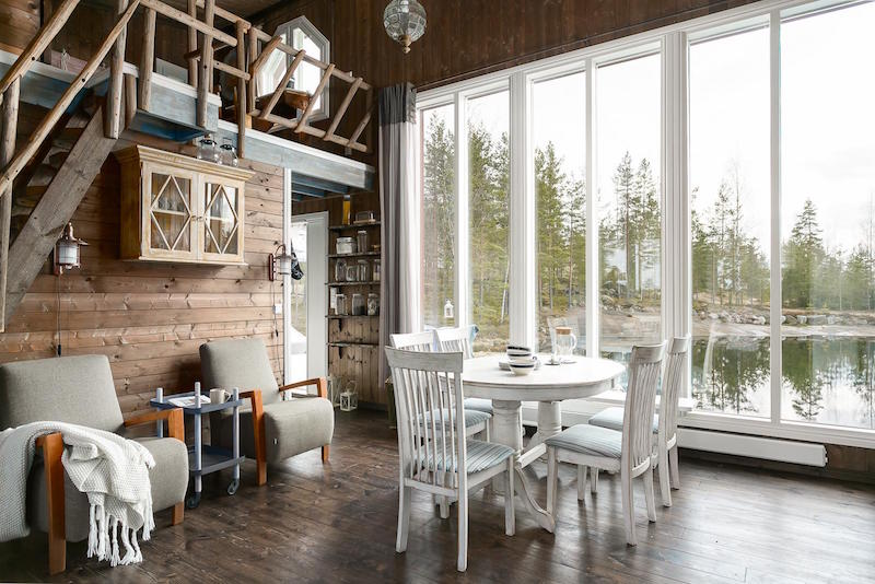 scandinavian small dream house