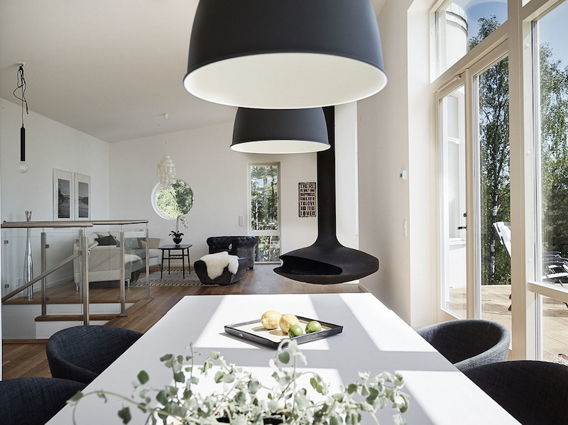 Scandinavian Architecture With Modern Style Hall Of Homes