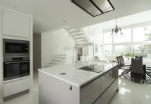 Luxurious modern FInnish home kitchen