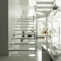 Luxurious modern FInnish home staircase