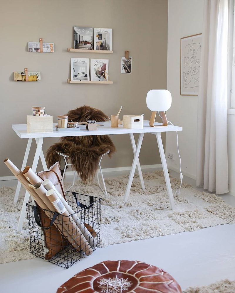 Relaxed earthy home style